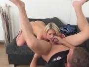 Gorgeous Chick Martina D Sucks Cock And Gets Fingered