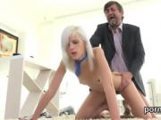 Nice schoolgirl gets seduced and banged by her senior instruc