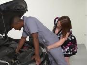 Sexy Cougar Maggie Green Blows Hung Mechanic
