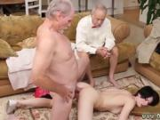 Old mom blowjob Frankie goes down the Hersey highway