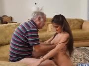 Hot Liz blowjob Frankies old big cock deep throat