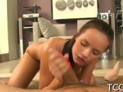 Exciting pussy drilling action