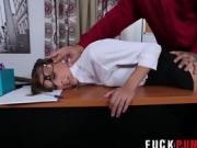 Dakota Vixin in Testing Out The New Secretary