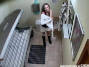Hot Babe Arianna Enjoys Teasing The Security Cam