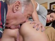 Pretty Teen Amy Gets Her Holes Licked By Old Neighbor