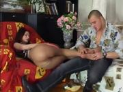 Hot And Toned Brunette Gets Special Attention