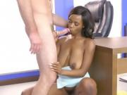 HR Babe Jezabel Vessir Gets Impaled By Employee