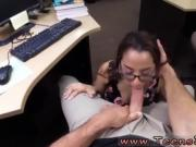 Coed car blowjob College Student Banged in my pawn shop!