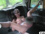 Busty babe anal slammed by the driver for a free fare