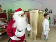 WankzVR - Santa's WankzShop - Chanel Preston, Gina Valentine, Adria Rae