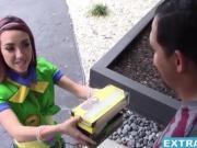 Teen cutie Kiley Jay taking a stiff pole in her pussy