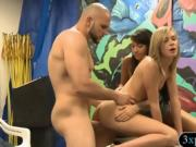 Tight blonde sweetie convinced to get pounded for cash