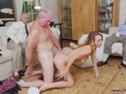Old man fuck hard first time Molly Earns Her Keep