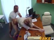 Skinny blonde babe Lexi Lou needs a medicinal cock