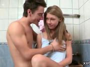 Bf assists with hymen physical and banging of virgin nympho