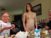 Old man fucks hot babe first time Minnie Manga munches breakf