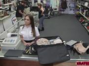Professional Steward can be fucked also in the shop