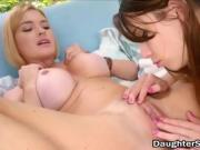 Two Mom's Swap Teen Daughters