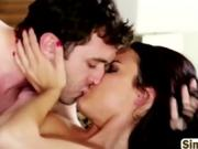 Pornstar Babe Fucked Hard On The Bed
