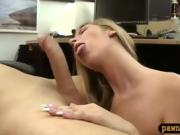 Firm ass babe pounded by nasty pawn guy at the pawnshop