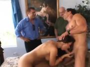 Brunette And Hot Dude Have Fun Happy Sex