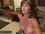 She Spreads Her Legs For Her To Slide The Vibrator Inside