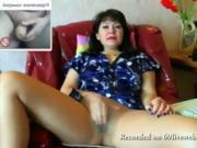 I had virtual sex with a mature woman she made me cum