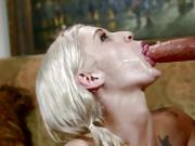 Sexy Blonde Babe Getting Fucked By A Bald Guy