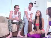 A hot game of truth or dare turns into a foursome