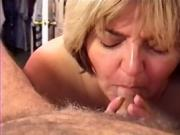 MILF Wife - Sucking Cock & Swallowing a Load of Cum