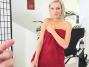 Cuddly nympho gives a head in pov and gets juicy quim penetra