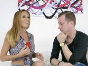 Cougar April Mae Blows Her Friends Hung Son