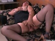 Hot Older Woman Enjoys Some Kinky Masturbation