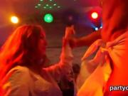 Nasty teenies get fully wild and nude at hardcore party