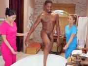 Asian Masseuses Give Erotic Massage To Black Client