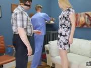 Nasty nympho was taken in ass hole assylum for awkward treatm