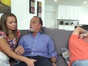 Teen Liza Rowe Sucks And Fucks Dads Hung Buddy