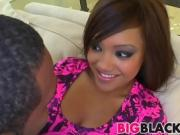 Busty girl Catalina Taylor fucked by big black cock