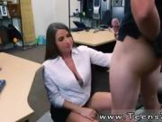 sexy brunette teen with glasses PawnShop Confession!