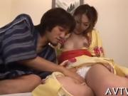 Kinky Japanese pussy toying