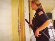 Police woman hd and trike patrol anal Noise Complaints make m
