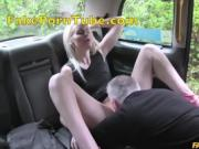 Blonde with Shaven Pussy Fucked in Ass