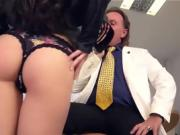 Bums Buero - German brunette babe fucks at her job interview