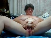 Granny Getting Her Pussy Off