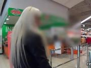 Ravishing czech chick gets teased in the mall and shagged in