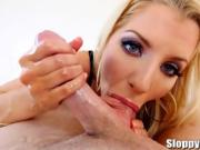 Gorgeous Kianna Dior Enjoys Sucking Cock