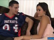 Hot Cece Stone Pounded By Football Star
