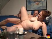 Chubby Big Breasted Chick Gets Her Pussy Fucked