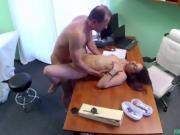 FULANAX - Jimena Lago Spanish patient gets creampied