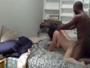 slutty matures White Girl Has Oral Cowgirl And Doggystyle Sex With Her black BF
